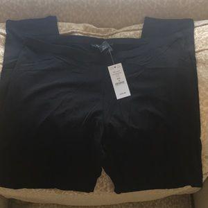 New full length black leggings
